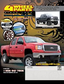 Picture of truck parts from 4Wheel Parts catalog