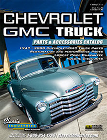 Picture of truck restoration parts from GMC Truck Parts catalog