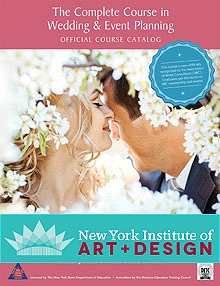 Picture of event planning careers from NYIAD - Wedding & Event Planning catalog