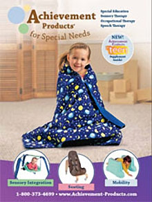 Picture of sensory integration from Achievement Products catalog