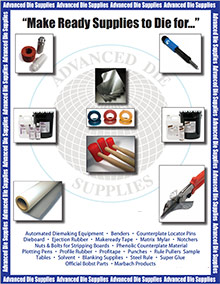 Picture of advanced die supplies from Advanced Die Supplies  catalog