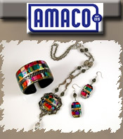 Image of decorative art supplies from AMACO catalog