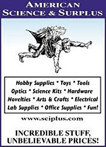 Picture of Science and Education from American Science & Surplus catalog