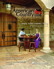 Picture of French bistro chairs from American Country catalog