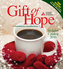 Picture of american diabetes association gift of hope catalog from American Diabetes Association Gift of Hope catalog