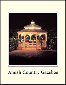 Picture of Amish Gazebos from Amish Country Gazebo catalog