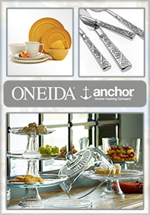Picture of anchor hocking glasses from Oneida - Anchor Hocking catalog