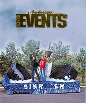 Image of float decorating ideas from Anderson's Events catalog