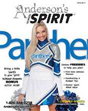 Image of custom school spirit from Anderson's Spirit catalog