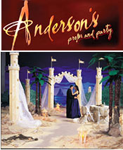 Image of prom night themes from Anderson's Prom catalog