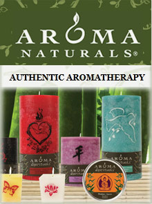 Picture of Aroma Naturals candles from Aroma Naturals catalog