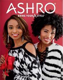 Picture of women's ethnic clothing from Ashro catalog