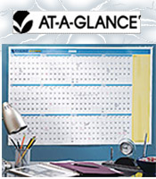 Image of wall size calendar from AT-A-GLANCE � catalog