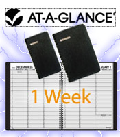 Image of weekly appointment planners from AT-A-GLANCE � catalog