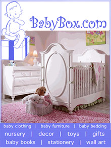 Picture of personalized baby gift sets from Baby Box catalog