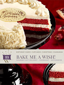 Picture of Bake Me A Wish bakery catalog from Bake Me A Wish! catalog