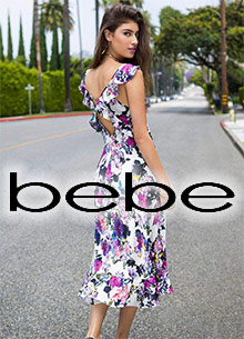 Picture of bebe clothing from bebe catalog