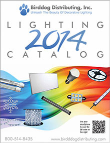 Picture of led lighting products from Birddog Distributing catalog