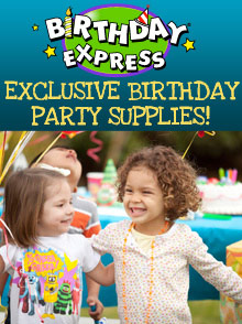 Picture of birthday express from Birthday Express catalog