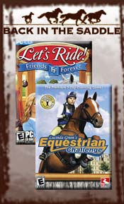 Image of horse toys and games from Back in the Saddle catalog