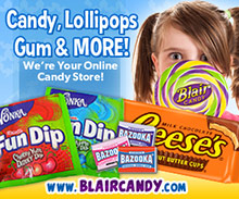 Picture of online candy stores from BlairCandy.com catalog