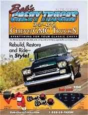 Picture of Chevy truck parts catalog from Bob's Chevy catalog