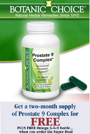 Image of herbal supplement for prostate from  Academic Superstore catalog