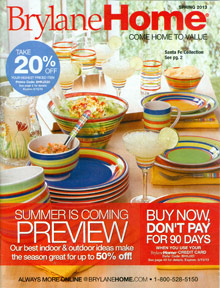 Picture of BrylaneHome catalog from Brylane Home catalog