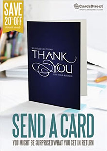 Picture of bulk greeting cards from CardsDirect catalog