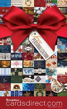 Picture of business christmas cards printing from CardsDirect catalog