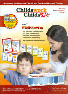 Picture of therapy games from Childswork Childsplay catalog