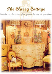 Picture of French country home decor from The Classy Cottage catalog