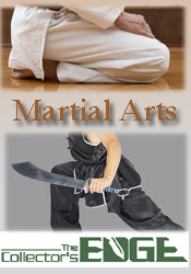 Image of martial arts defense from Collector's Edge catalog