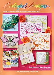 Image of unique scrapbook supplies from Colorful Images catalog