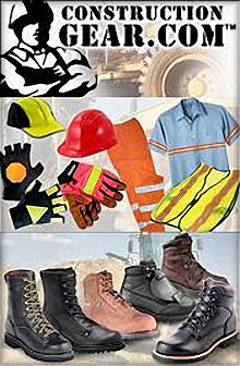 Picture of construction wear from Construction Gear catalog