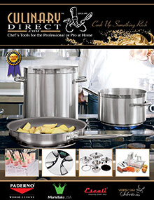 Picture of best cookware from Culinary Direct catalog