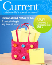 Image of stationery and accessories from Current catalog