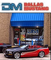 Image of auto exterior paint from Dallas Mustang catalog