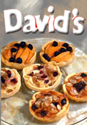 Image of individual desserts from David's Cookies catalog