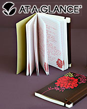 Image of journals or diaries from Day Runner � catalog