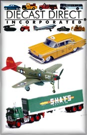 Picture of die cast metal cars from Diecast Direct - OLD catalog