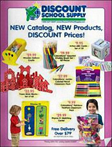 Picture of preschool crafts from Discount School Supply catalog