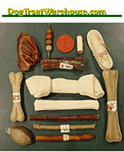 Image of dog treat bones from DogTreatWarehouse catalog