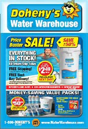 Picture of Water Warehouse from Doheny's Water Warehouse catalog