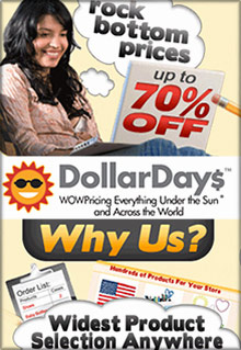 Picture of Dollar Days wholesale from DollarDays catalog