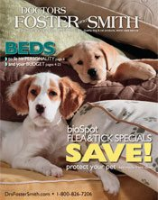 Image of flea and tick care from Doctors Foster and Smith catalog
