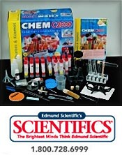 Image of science educational kits from Edmund Scientifics catalog
