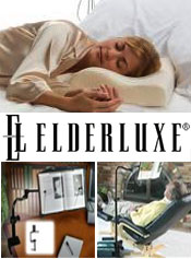 Image of home comfort products from ELDERLUXE catalog