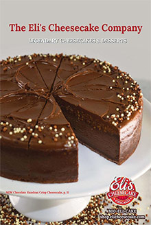 Picture of eli's cheesecake catalog from Eli's Cheesecake catalog