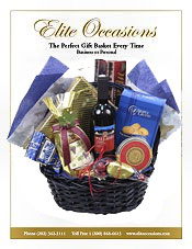 Image of business etiquette gift from Elite Occasions Gift Baskets catalog
